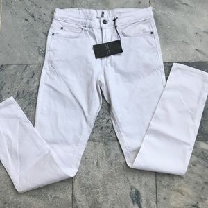 Zara White Jeans Denim Zara Man Pant Trouser Slim